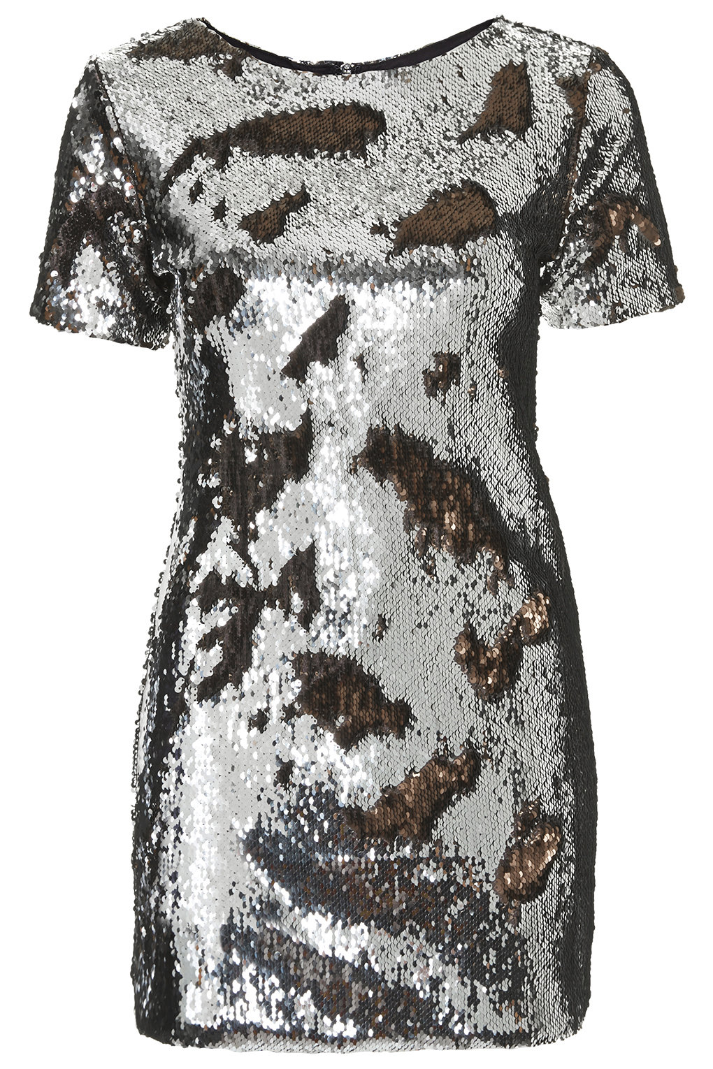 """Two-Tone Sequin Bodycon Dress"" by Top Shop"
