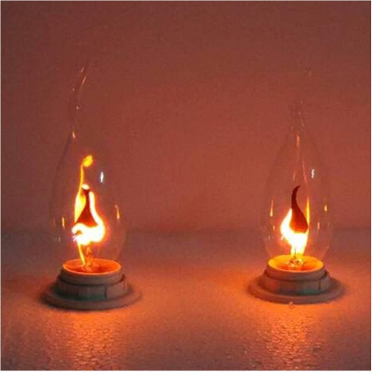 Flicker bulbs