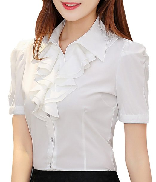 Ruffle Blouse by Yasong