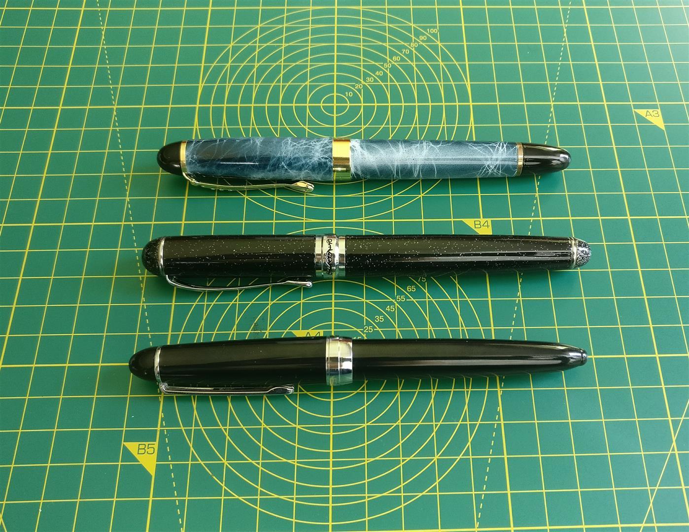 Jinhao X450, X750, 992.