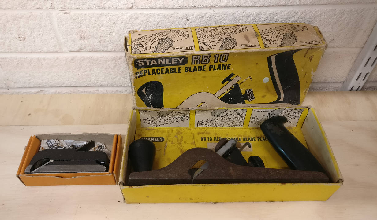 Stanley blade planes