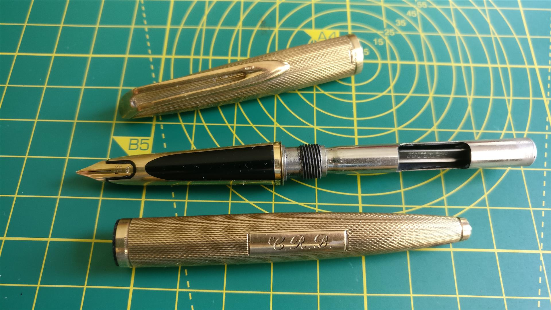 Waterman, converter on show