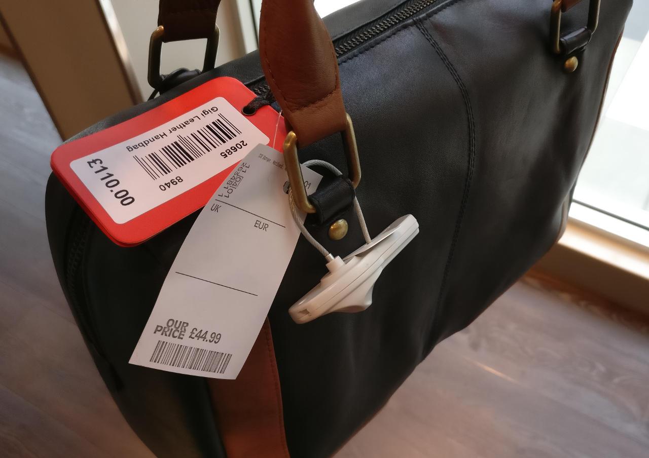 Gigi leather handbag
