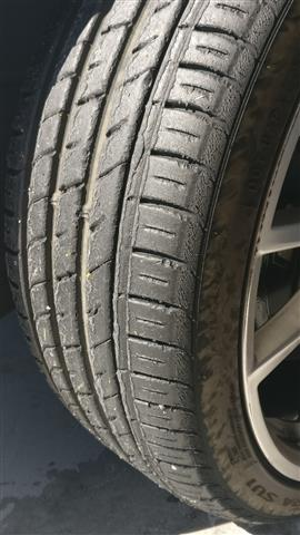 Melty tyres
