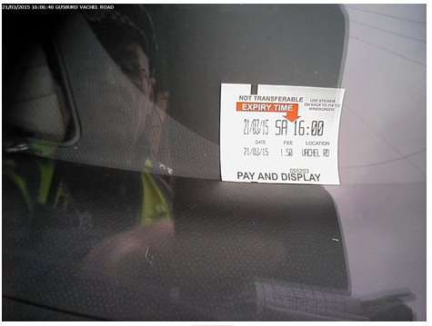 Jobsworth Parking Warden