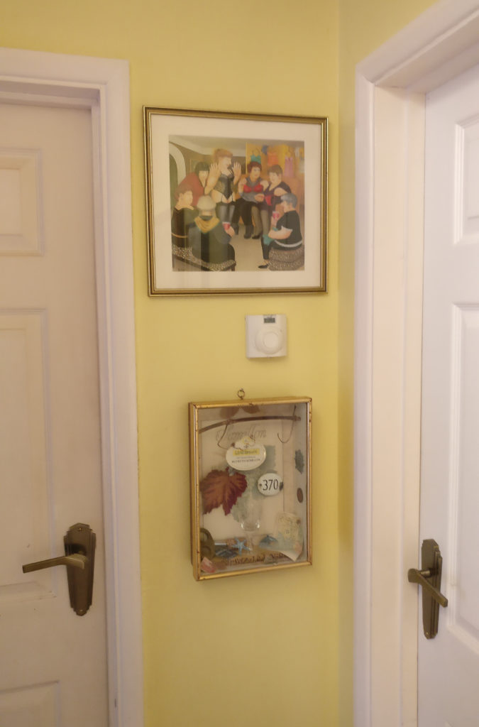 """""""Party Girls"""" by Beryl Cook, in situ"""