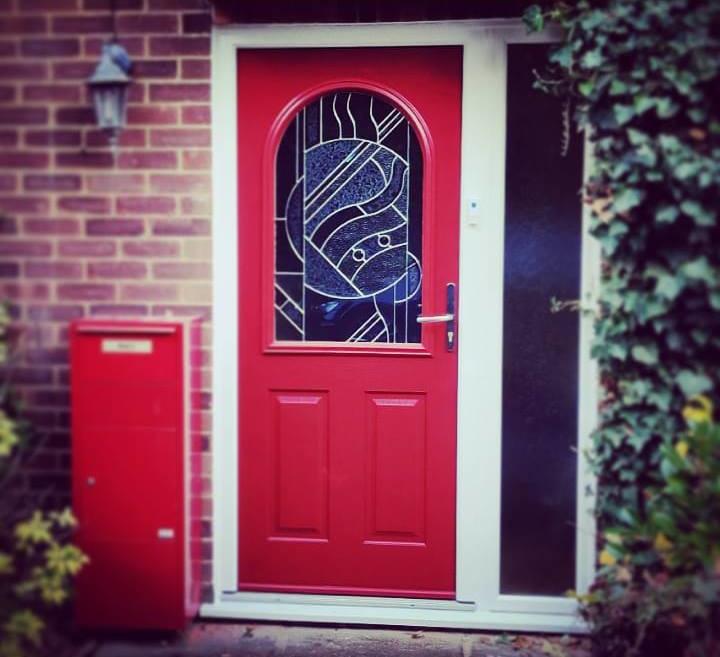 Front door (external)