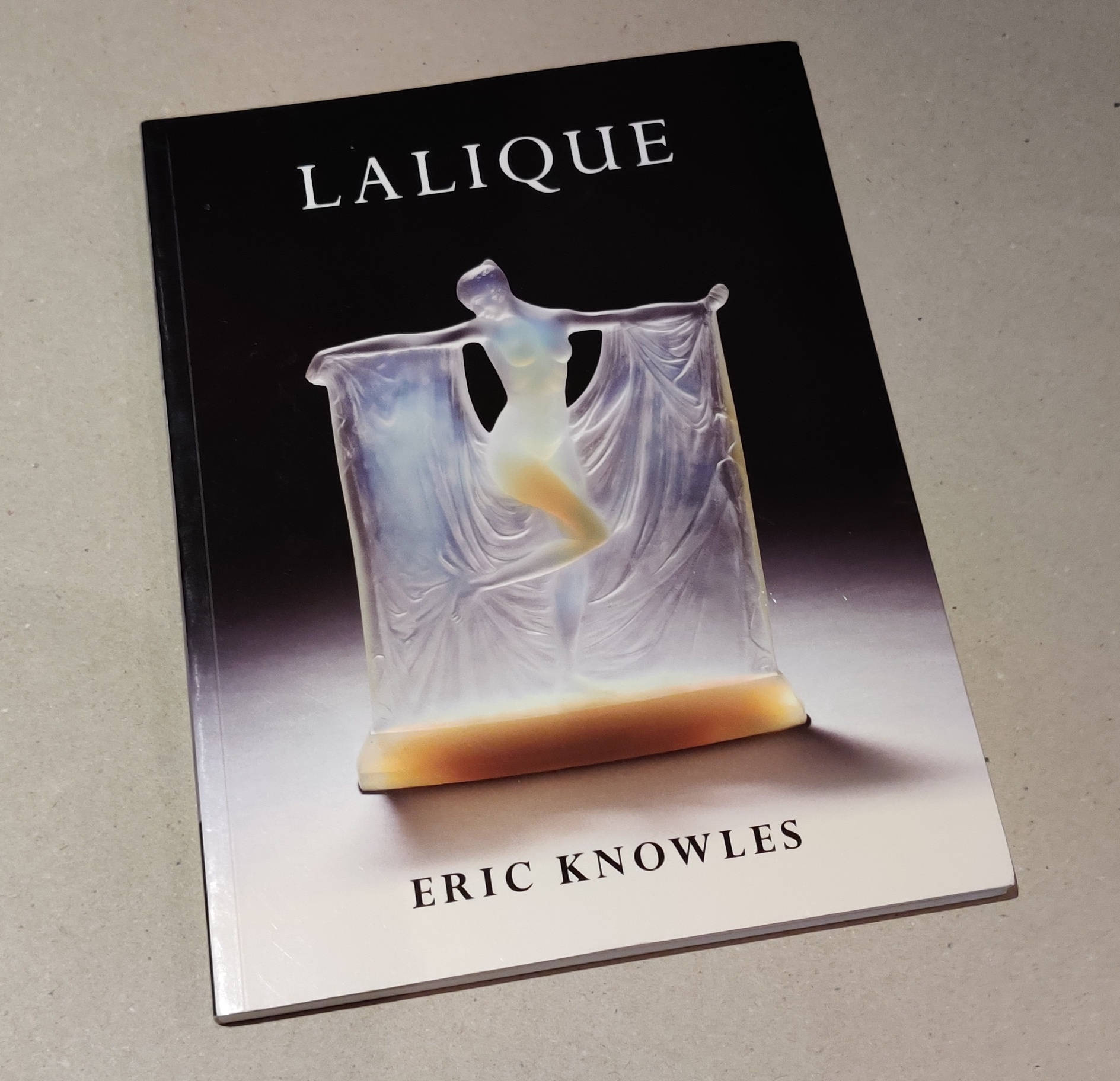 Lalique book by Eric Knowles
